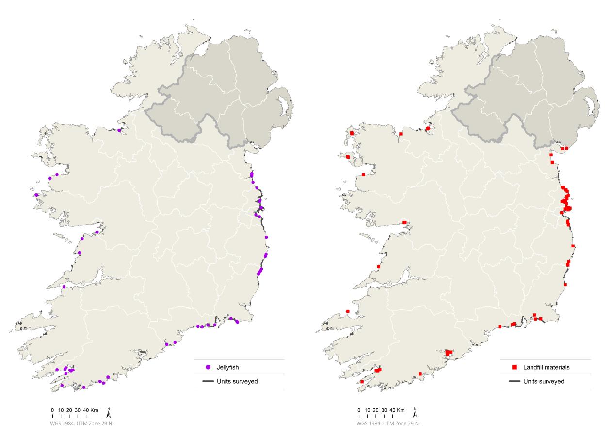 Mapas Da Campaña Coastwatch Survey